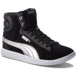 Sneakersy PUMA - Vikky Mid Cord 366813 01 Puma Black/Puma Silver