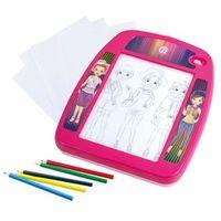 Tablice szkolne, Playgo Tablica do rysowania Fashionista z podświetleniem LED 7775 Darmowa wysyłka i zwroty