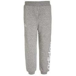 adidas Performance LINEAR Spodnie treningowe medium grey heather/white