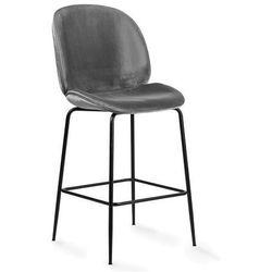 Hoker Boliwia szare siedzisko/czarne nogi