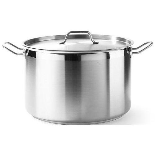 Pozostała gastronomia, Hendi Garnek średni ze stali nierdzewnej z pokrywką | Profi Line | poj. 2 - 23,5L - kod Product ID