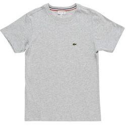 Lacoste Tshirt basic argent chine