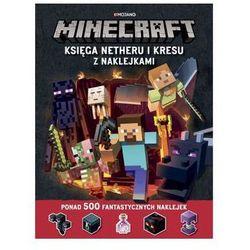 Minecraft Księga Netheru i Kresu z naklejkami [Milton Stephanie]