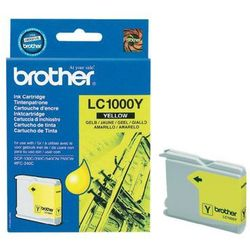 Brother oryginalny ink LC-1000Y, yellow, 400s, Brother DCP-330C, 540CN, 130C, MFC-240C, 440CN