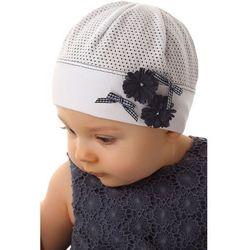 Czapka niemowlęca z bawełny 5X34CN Oferta ważna tylko do 2019-06-26