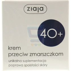 Ziaja 40+ Krem do twarzy przeciw zmarszczkom 50 ml