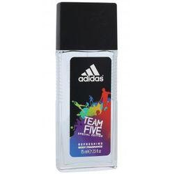 Adidas Team Five Special Edition dezodorant 75 ml dla mężczyzn