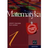 Matematyka, Matematyka 1 zeszyt ćwiczeń (opr. miękka)