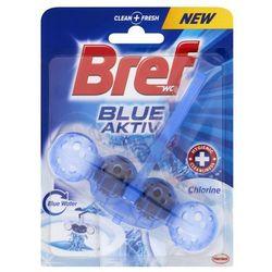 Zawieszka do muszli WC Bref Blue Aktiv Chlorine 50 g