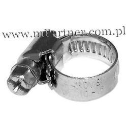 Obejma opaska zaciskowa ślimakowa skręcana 10-16mm 100szt