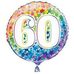 Balon foliowy kolorowy - 60tka - 47 cm - 1 szt.