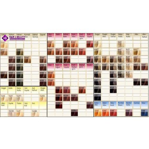 Farbowanie włosów, Wella Koleston Perfect | Trwała farba do włosów 7/4 60ml