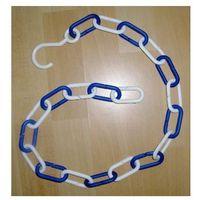 Łańcuchy, ŁAŃCUCH plastikowy Biało-granatowy
