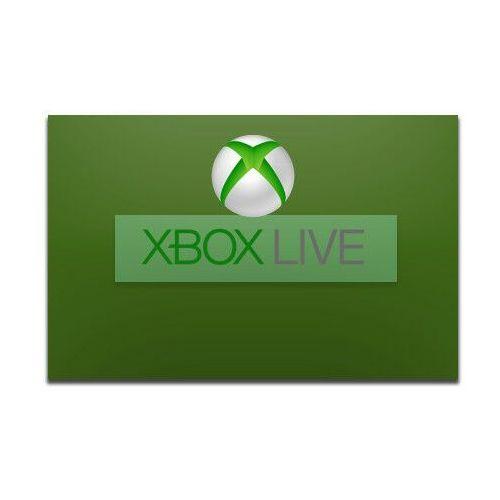 Klucze i karty pre-paid, MICROSOFT Karta przedpłacona Xbox 50 PLN