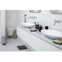 Brabantia - Zestaw łazienkowy ReNew Collection - stal matowa - stalowy