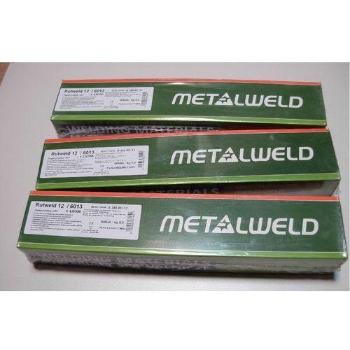 Akcesoria spawalnicze, ELEKTRODY DO SPAWANIA RUTWELD 12 ŚREDNICA 4 mm