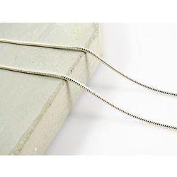Srebrny (925) łańcuszek OKRĄGŁY 55 cm +OPAKOWANIE