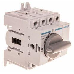 Rozłącznik izolacyjny 40A 4P, obrotowy, HAB404 HAGER