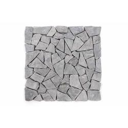 Mozaika marmurowa Garth na siatce szary 1m2