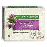 Leki na wątrobę, OSTROPEST PLAMISTY x 30 tabletek