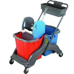 Wózek dwuwiaderkowy Gricard - 2x25L na podstawie ABS