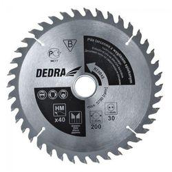 Tarcza do cięcia DEDRA H50060 500 x 30 mm do drewna + DARMOWY TRANSPORT!