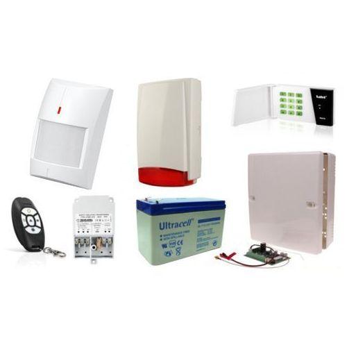 Zestawy alarmowe, Alarm Satel Micra LED, MPT-300, 6xMPD-300 PET, syg. zew. Beewell