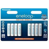 Akumulatorki, 8 x akumulatorki Panasonic Eneloop R6 AA 2000mAh BK-3MCCE/4BE (blister)