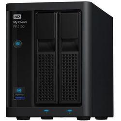 Serwer plików NAS WD My Cloud PR2100 0 TB ( WDBBCL0000NBK )