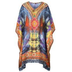 Sukienka plażowa bonprix kolorowy