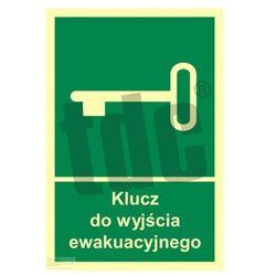 Klucz do wyjścia ewakuacyjnego Art. AC029