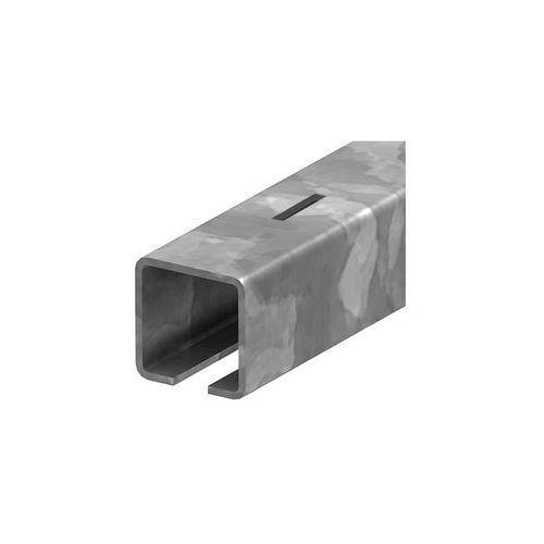 Przęsła i elementy ogrodzenia, Profil do bramy przesuwnej Zn, 78x78x3,5mm, L7m