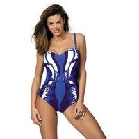 Pozostałe sporty wodne, Marko miriam baltimora m-329 szafirowo-fioletowy (162) kostium kąpielowy