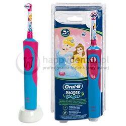 BRAUN Oral-B Stages Power D12 900TX - szczoteczka elektryczna dla dzieci w wieku pow. 3 lat - wersja KSIĘŻNICZKA