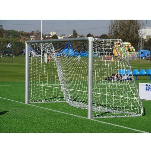 Piłka nożna, Profesjonalna bramka piłkarska ALUMINIUM 3 m x 2 m rury 120 mm + SIATKA!