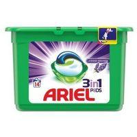 Pozostałe do prania, Żelowe kapsułki piorące Ariel Lavender Fresh 418 g (14 sztuk)