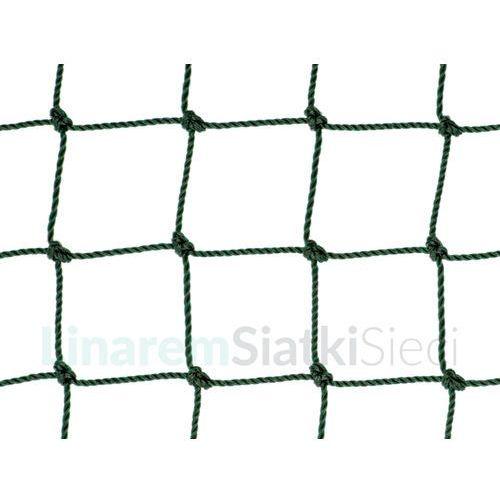 Piłka nożna, Siatka piłkarska. Polietylenowa siatka do piłki nożnej oko 48mm x 48mm splotka fi 2,5mm.