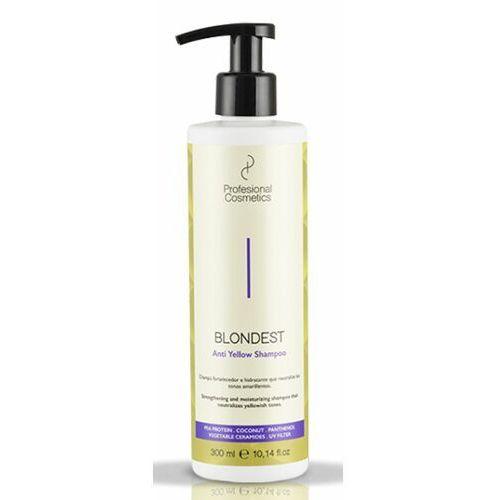 Mycie włosów, Profesional Cosmetics BLONDEST ANTI-YELLOW SHAMPOO Szampon do włosów blondów przeciw zażółceniom (300 ml)