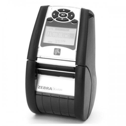 Drukarki termiczne, Zebra QLn220, BT, 8 dots/mm (203 dpi), Sensor, ZPL, CPCL