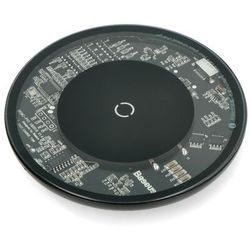 Ładowarka indukcyjna QI Baseus Simple 10W bezprzewodowa Czarna