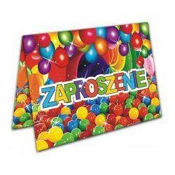 Zaproszenia na Urodziny dla Dzieci - Balony