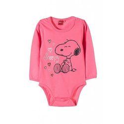 Body niemowlęce Snoopy 100%bawełna5T35A1 Oferta ważna tylko do 2019-12-08