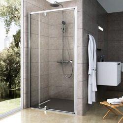 Ravak Pivot drzwi prysznicowe PDOP2-100, wys.190cm Biały/Chrom+Transparent 03GA0100Z1