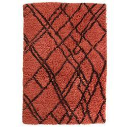 HK Living Wełnianiy dywan berberyjski funky czerwony (120x180) TTK3037