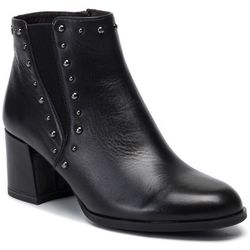Botki TAMARIS - 1-25057-23 Black Leather 003
