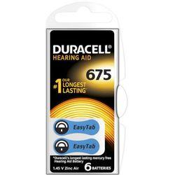 Bateria typ 675 do aparatu słuchowego - Duracell - 6szt.