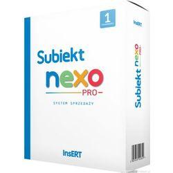 Subiekt nexo - sprzedaż detaliczna i hurtowa, fakturowanie, zamówienia, towary, usługi, komplety, obsługa magazynów, rozrachunki