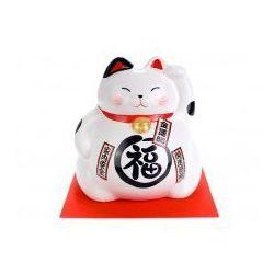 Duża Figurka skarbonka Maneki Neko - Szczęście