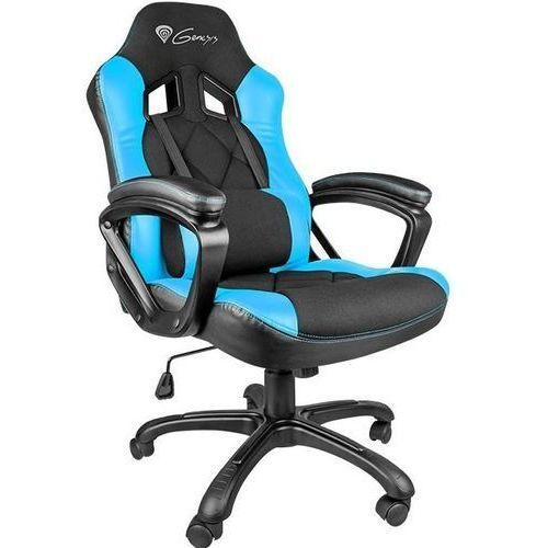 Fotele dla graczy, Fotel GENESIS SX33 Gaming Chair Czarno-niebieski + Zamów z DOSTAWĄ JUTRO! + DARMOWY TRANSPORT!