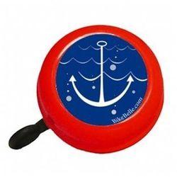 Czerwony dzwonek rowerowy Bike Belle, Sailor - BEL-1501RE- natychmiastowa wysyłka, ponad 4000 punktów odbioru!